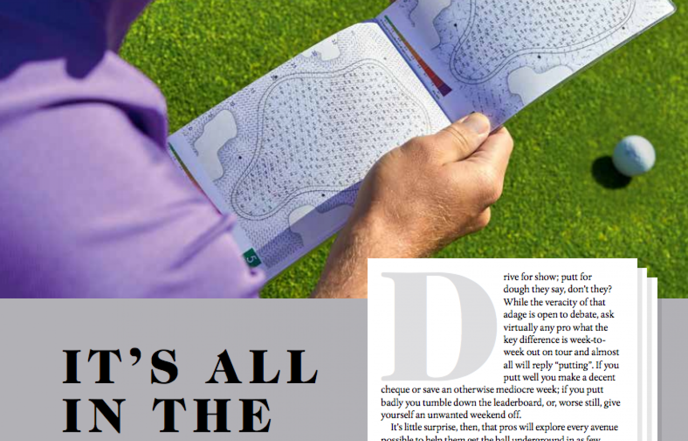 Green Book debuts in Golf Monthly