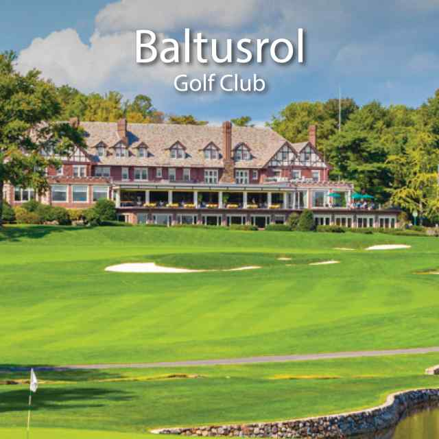 Baltusrol Golf Club - New Jersey